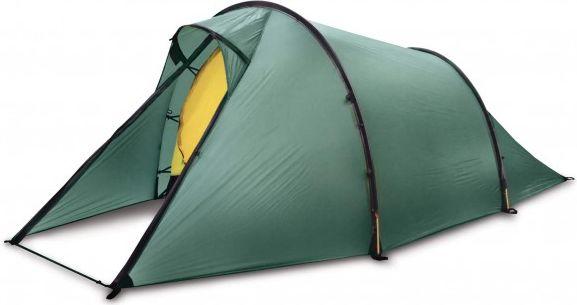 Hilleberg Nallo 4 – 4 henkilön teltta harmaa/oliivinvihreä