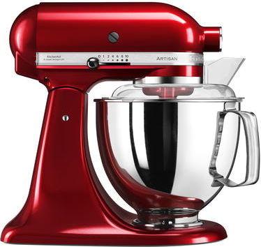 KitchenAid Artisan 175 Yleiskone 4,8 litraa Punainen metallinen