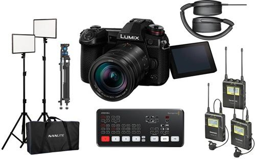 Panasonic G9l – Streaming Kit