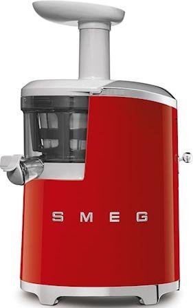 Smeg Slow Juicer SJF01RDEU 0.5 L Punainen